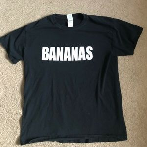 Other - Bananas Black T-shirt mens size M
